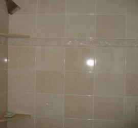 TBS Improvements Bathroom Tile Job